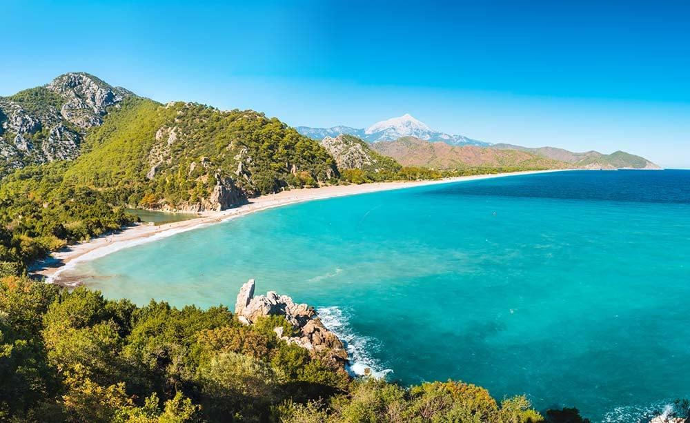 Praia de Olympos, Turquia