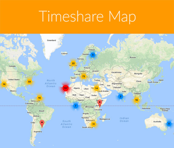 Timeshare Map