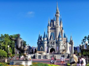 Disney's Magic Kingdom Attraction