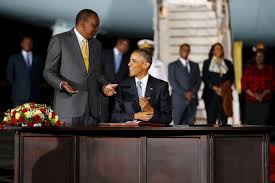 US President Obama came to Kenya