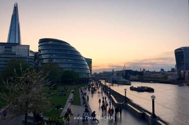 Londyn królewski trakt, City Hall w Londynie