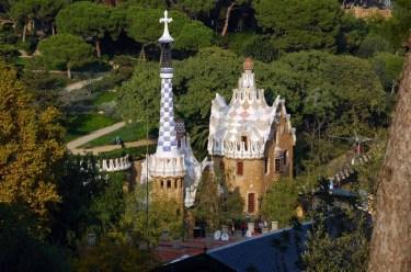 Barcelona co warto zobaczyć Parc Guell