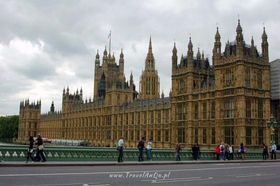 Londyn królewski trakt. Pałac Westminster.