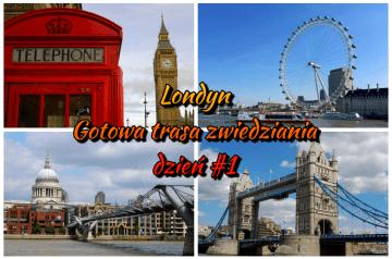 Londyn - gotowa trasa zwiedzania do pobrania.