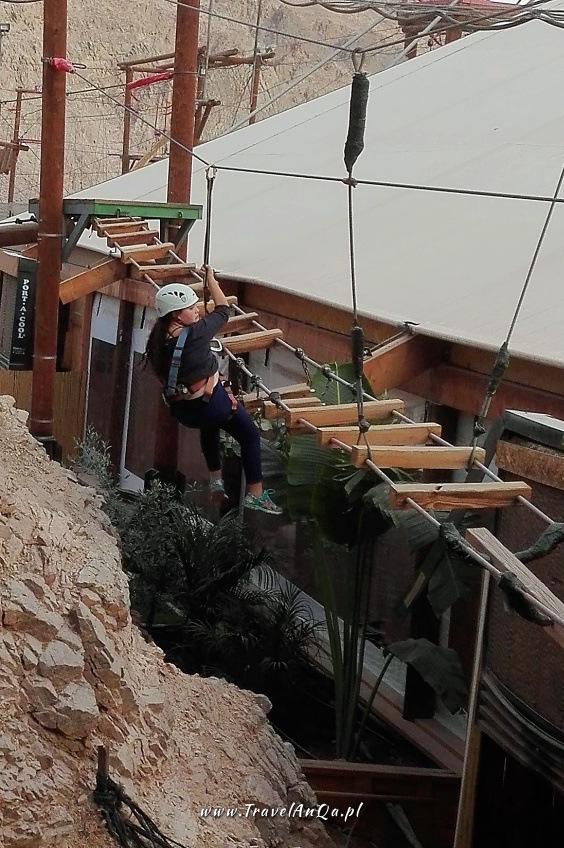 Ejlat Izrael - park linowy