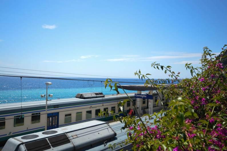 Reizen met de trein Cinque Terre