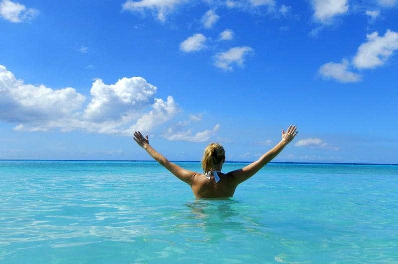 Enjoying Curacao