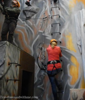Indoor klimmen - Via Ferrata