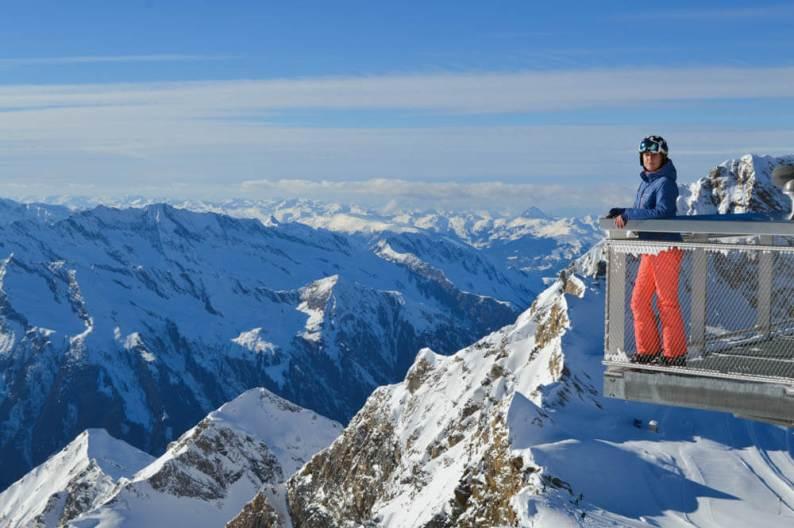 Wintersport Uitzich Kitzsteinhorn