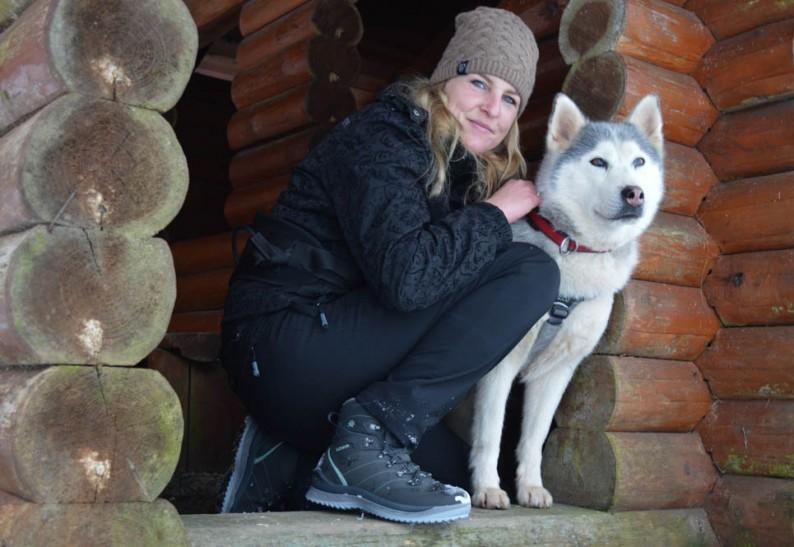 Winterse wandelingen met LOWA Ravina GTX MID Ws