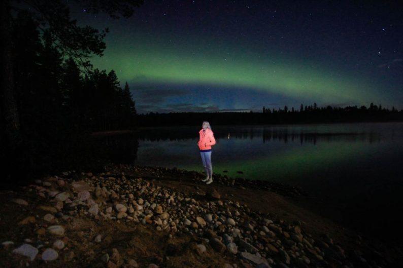 Noorderlicht in Lapland, spot het vanaf september