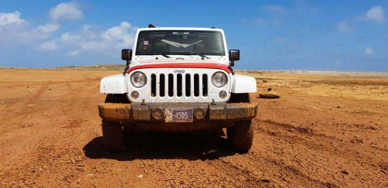 Off road rijden op Aruba