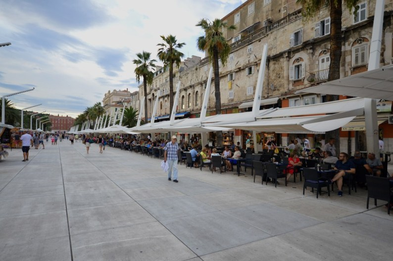Riva, de boulevard van Split