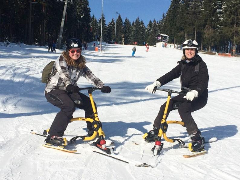 Snowbike Thuringen