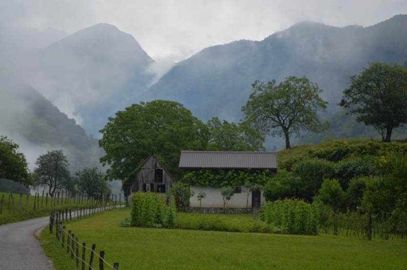 Tolmin kloof Slovenie