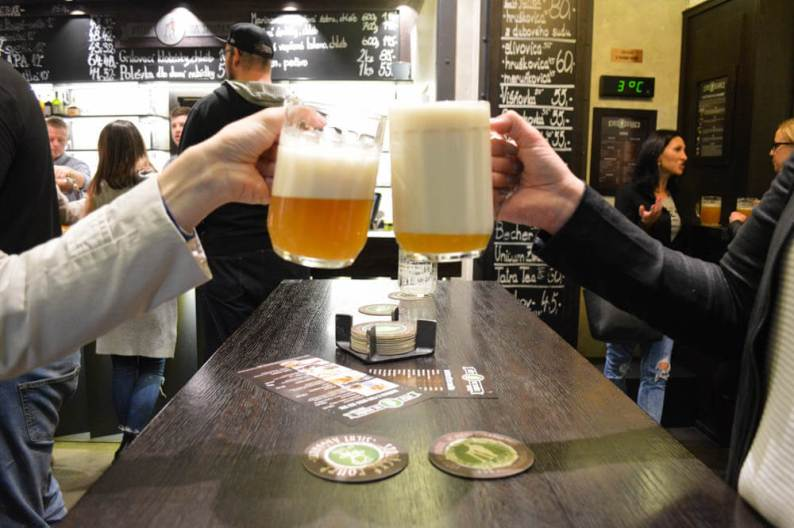 Feel Local Beer Tour Brno