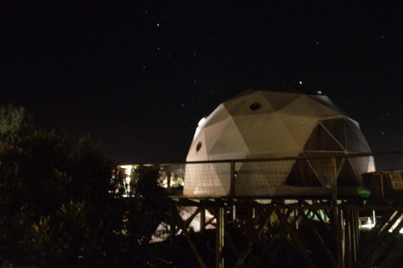 Glamping Alentejo, slaap in een dome!