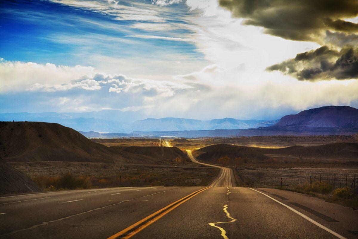 Utah country road