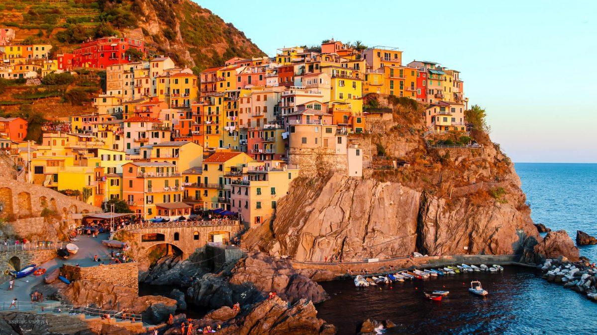 Cinque Terre In The Italian Riviera