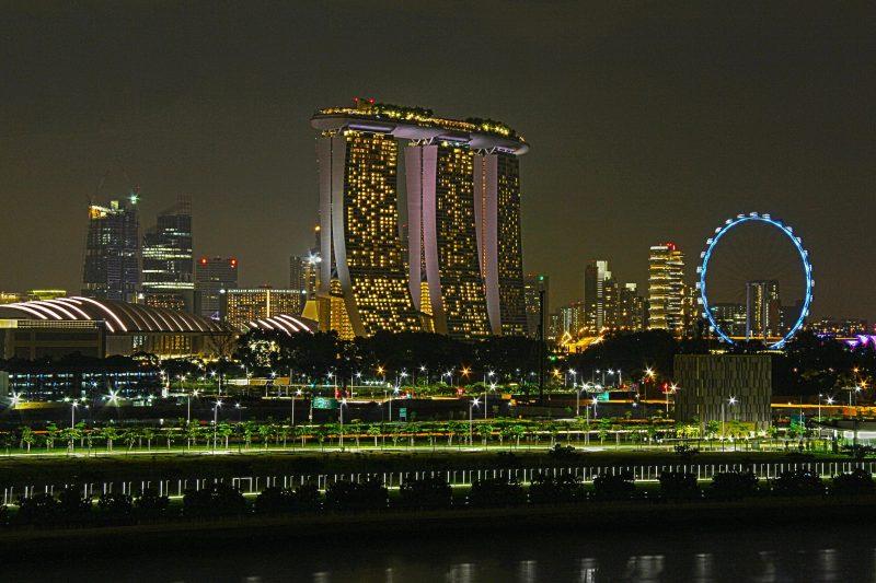 Marina Bay Sands Resort - Singapore by Richard Krebs