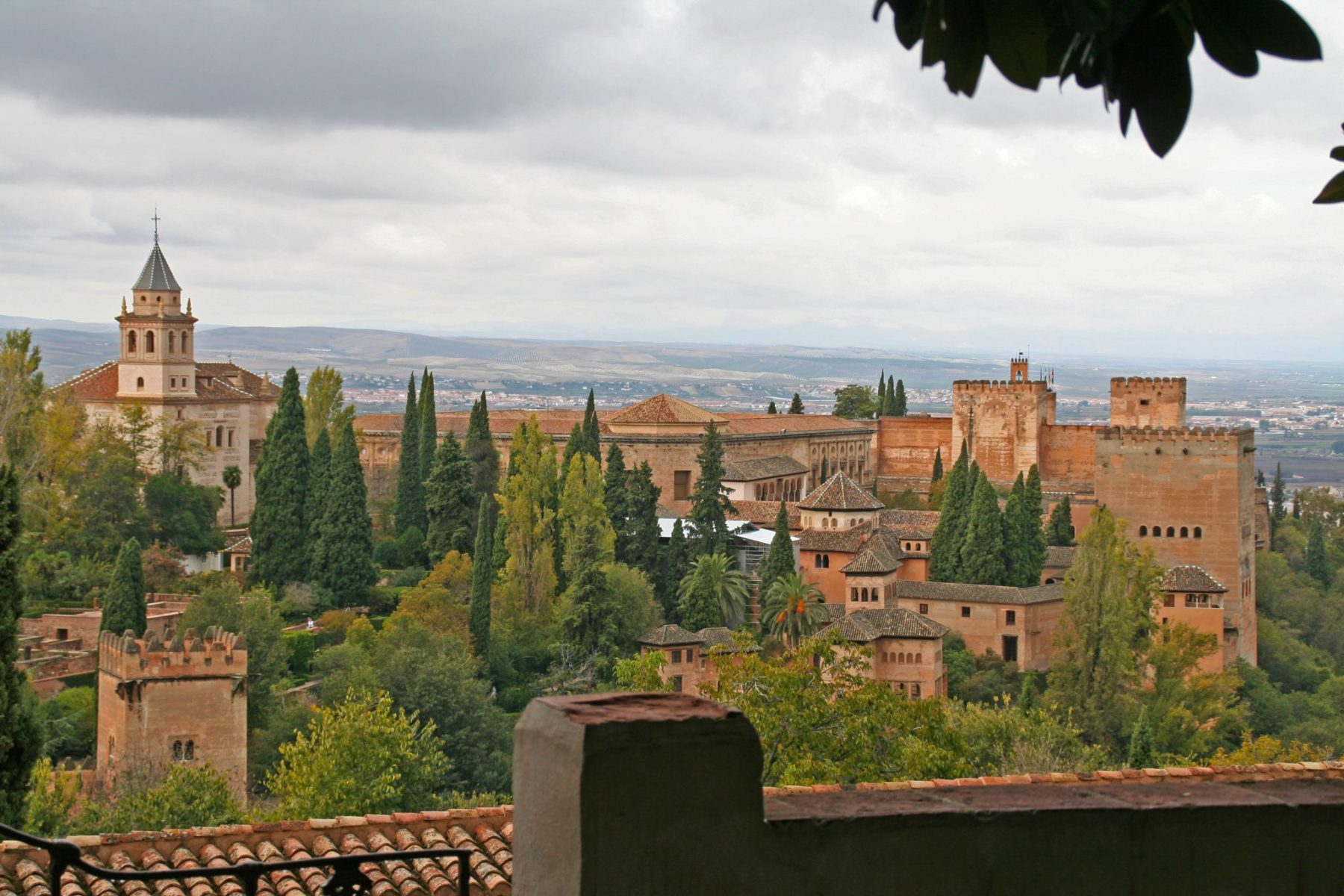 La Alhambra Palace Granada, Spain a palace, fortress complex