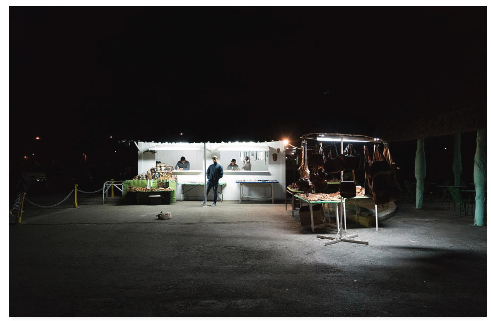 Evening Sales by Sharon Popek