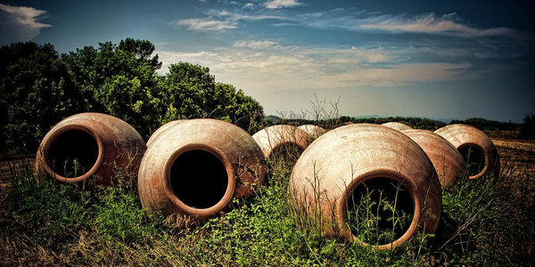 Feed Me! - surrealistic clay pods in Spain, by Tatiana Travelways