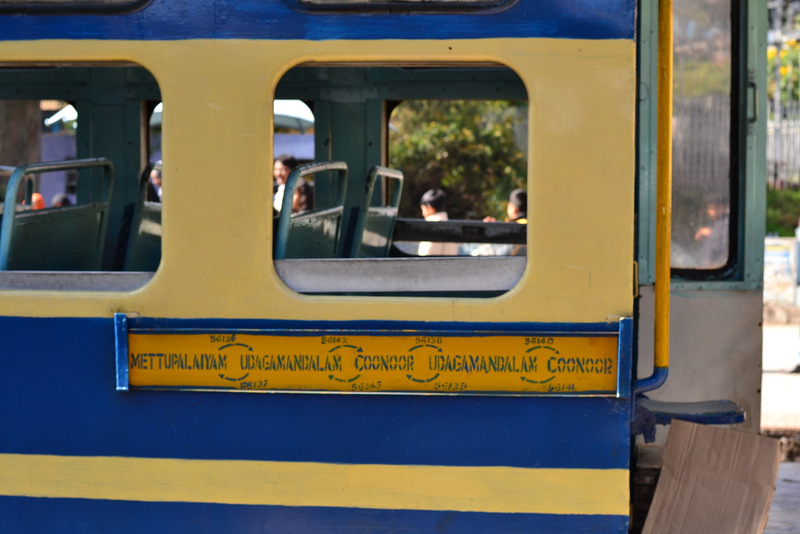 Nilgiri Mountain Railway route