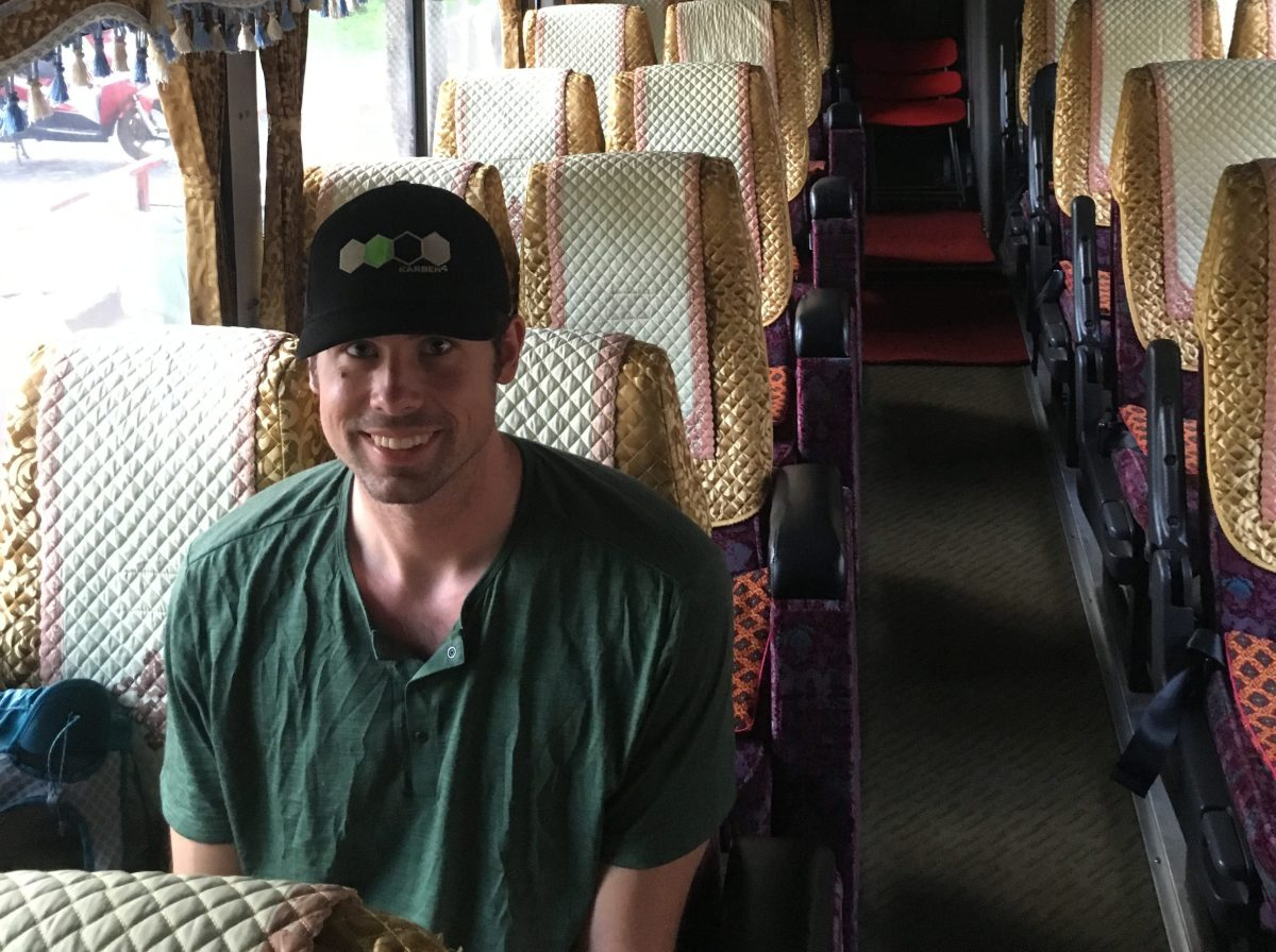 Bus from Ho Chi Minh to Phnom Penh