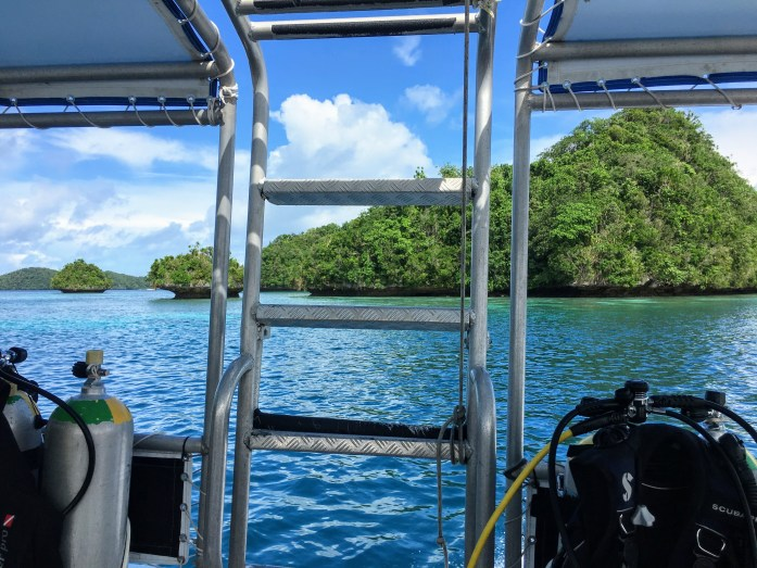 Our sunny diving day in Palau