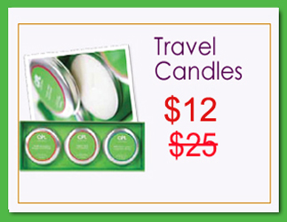 Travel Candles Holiday Sale - RESIZED