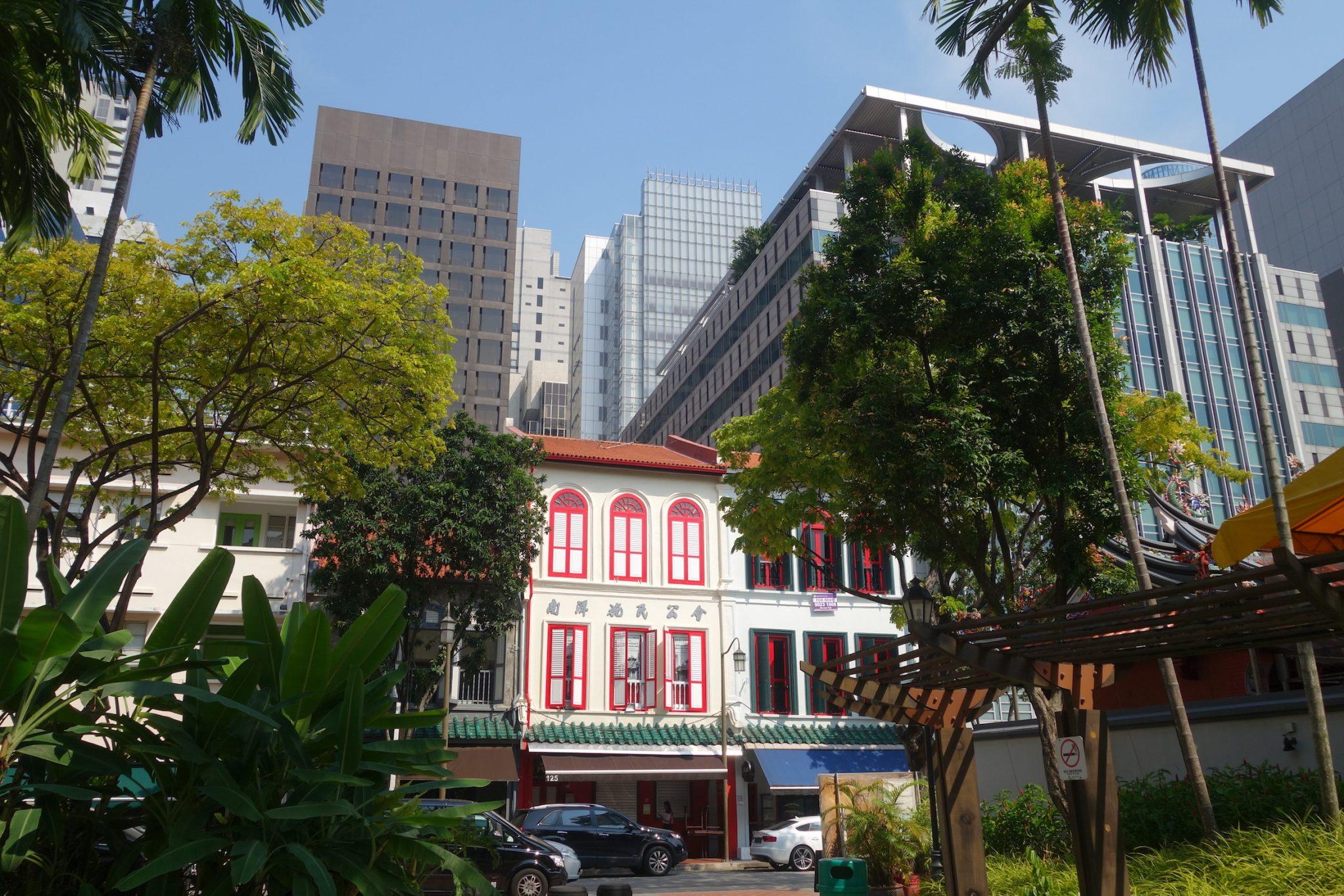 Singapur_TanjongPagar_Chinatown_TelokAyer_Skyline