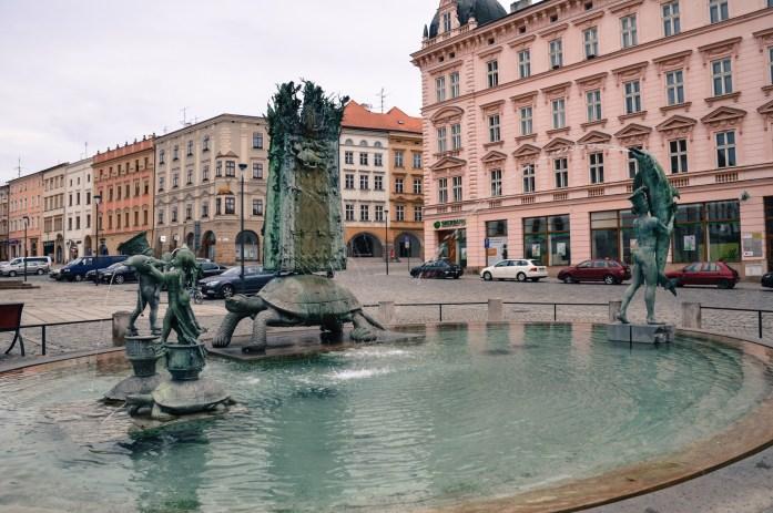 Action Fountain in Olomouc