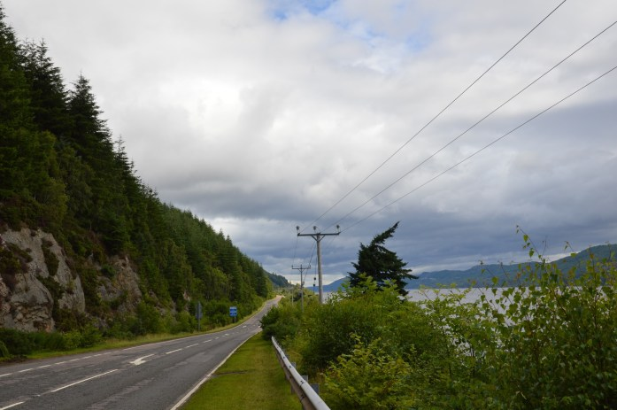 Driving in Scotland from Western Highlands to Inverness