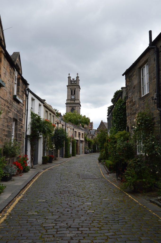 Circus Lane, Edinburgh, Scotland