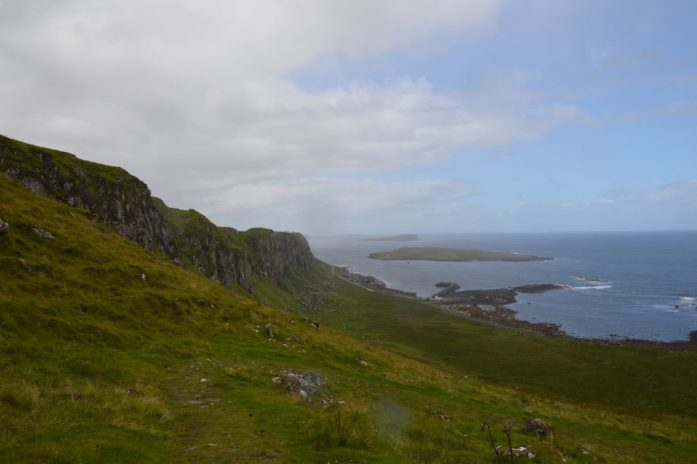 View of Staffin Island, Staffin, Isle of Skye, Scotland