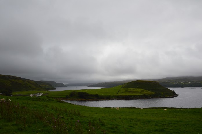 View on the drive to Dunvegan, Isle of Skye, Dunvegan