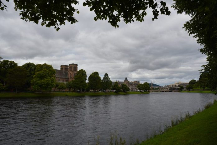 The River Ness, Inverness, Scotland
