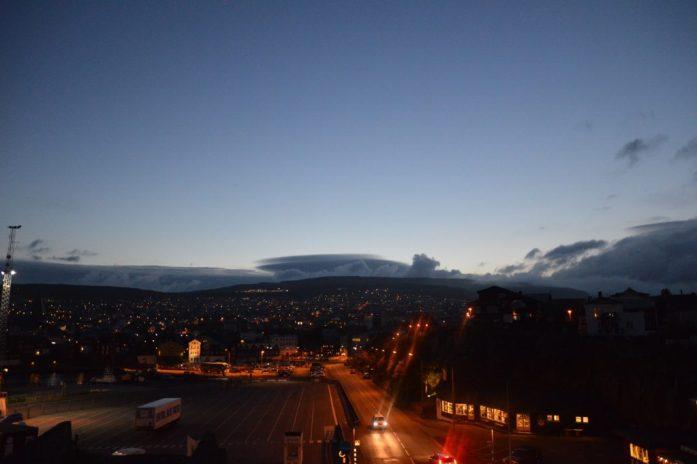 Tórshavn at night, Faroe Islands