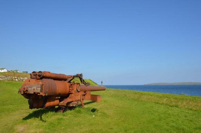 Skansin fort, Tórshavn, Faroe Islands