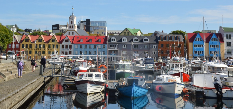 Tórshavn port, Faroe Islands