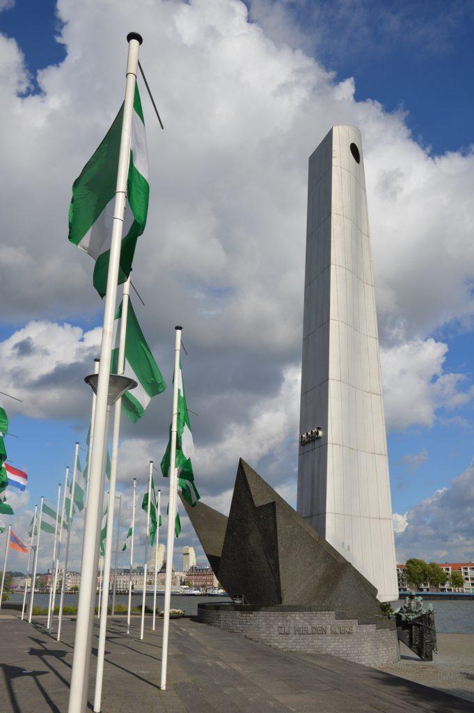 De Boeg monument, Rotterdam, Netherlands