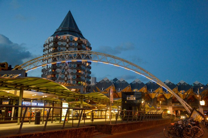 Rotterdam Blaak, Cube Houses, Rotterdam, Netherlands