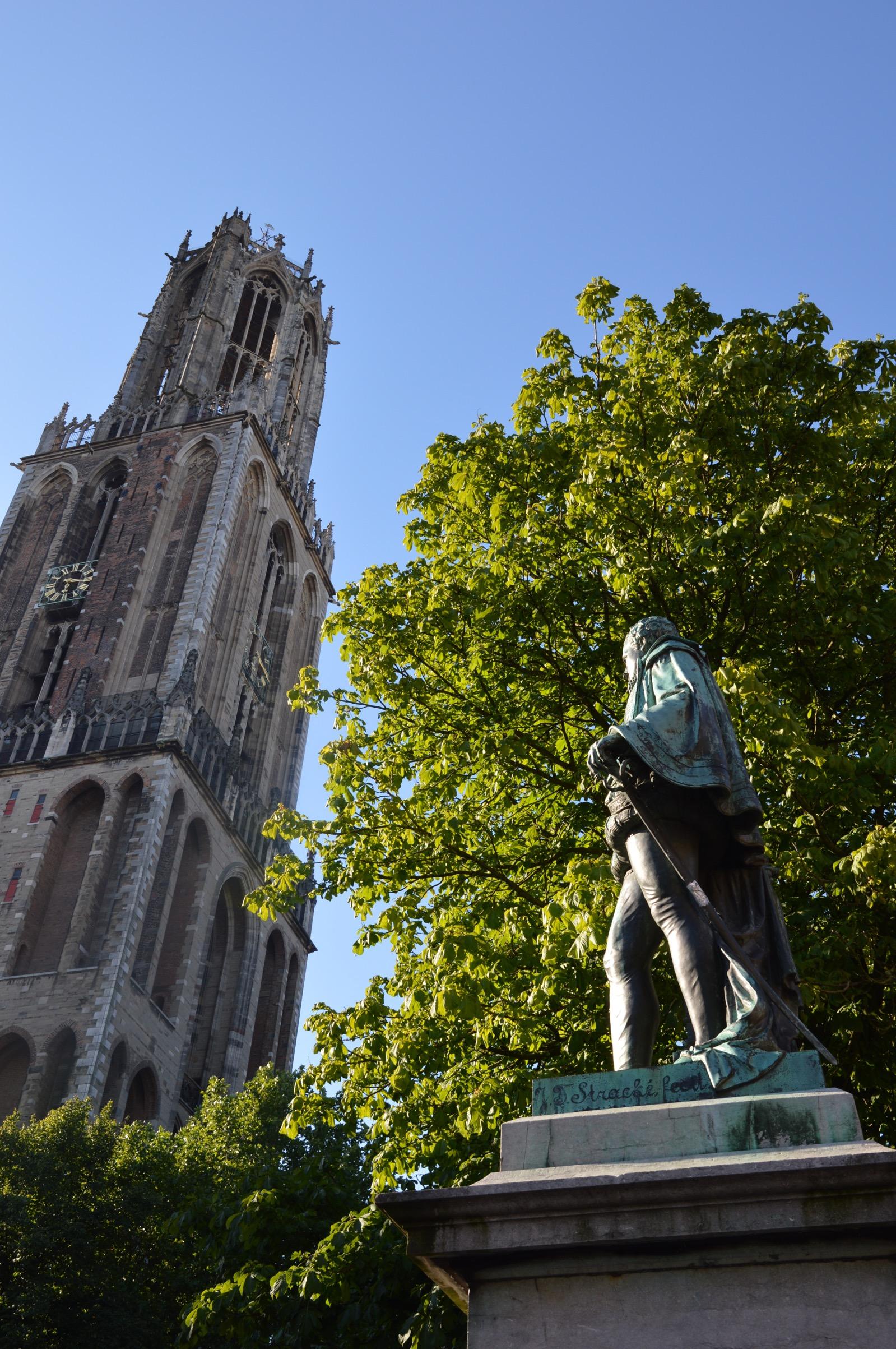 Dom Tower, Graaf Jan Van Nassau, Utrecht, the Netherlands