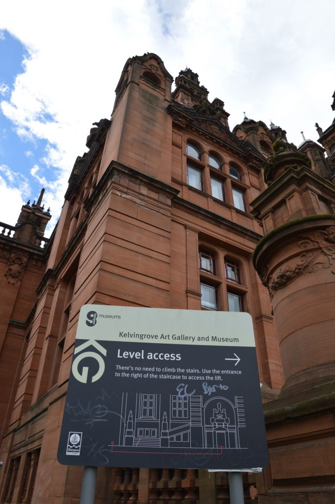 Kelvingrove Museum accessibility