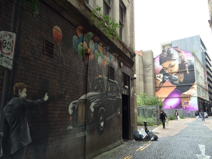 Murals, Glasgow, Scotland