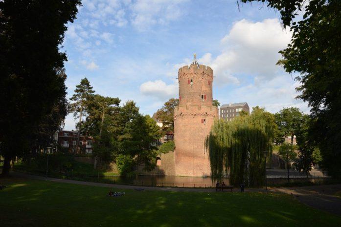 Kronenburgerpark, Nijmegen, the Netherlands