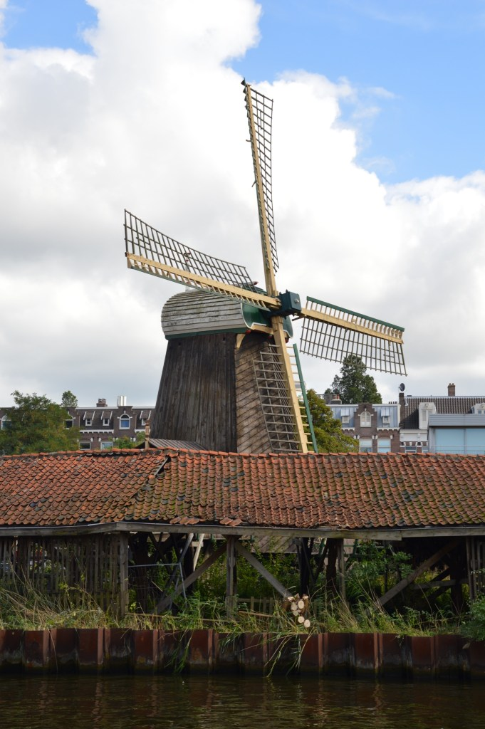 De Otter windmill, Amsterdam, the Netherlands