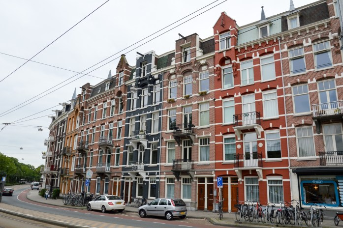 Buildings in Amsterdam, the Netherlands