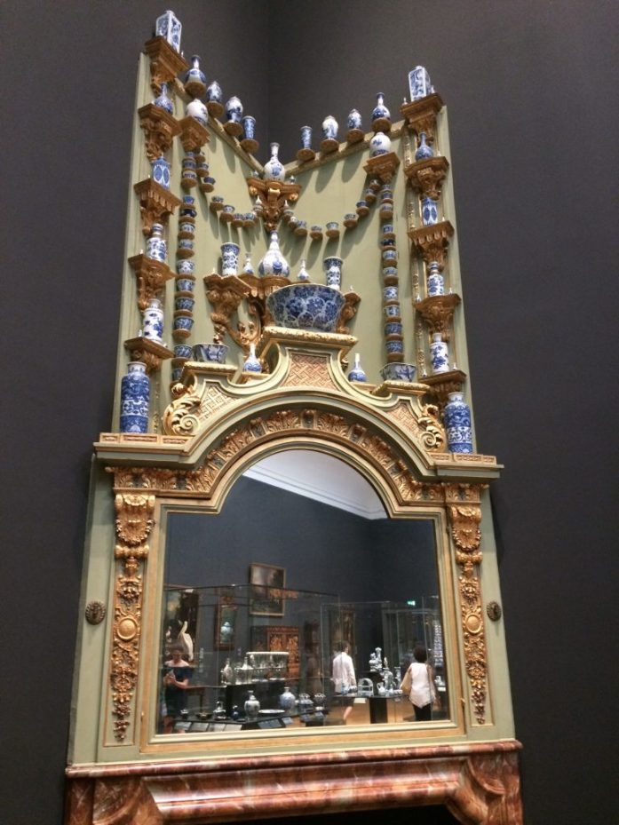 Delftware, Rijksmuseum, Amsterdam, the Netherlands